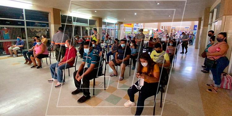 Durante dos semanas una brigada de vacunación estuvo en la Gran Central Metropolitana de Buses de San Pedro Sula.