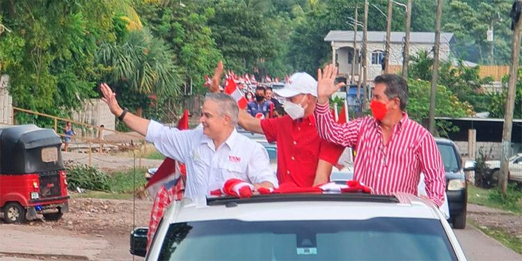 Ante cientos de liberales, Yani resaltó que está preparado para gobernar Honduras.