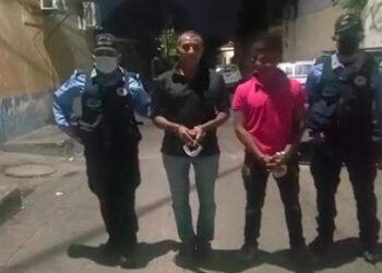 En la comunidad de San Juan Arriba, fueron detenidas dos personas por portar arma de fuego de manera ilegal.
